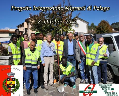 2015 - Progetto migranti Pelago